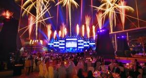Fireworks show EVENT Dubai