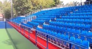 Grandstand tennis event