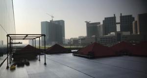 Scaffolding Temporary Floor - Cleveland Clinic, Abu Dhabi